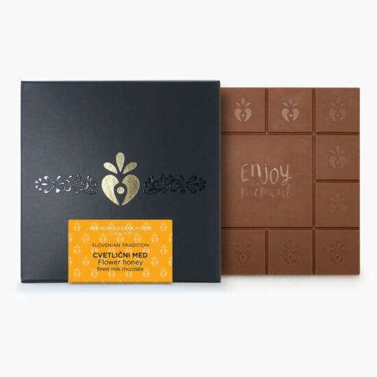 Čokolada mlečna, cvetlični med